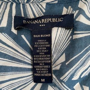 Banana republic short sleeve work top